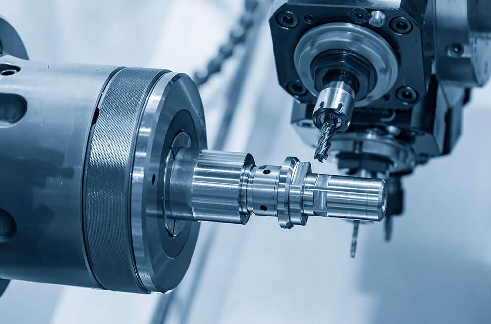 Toczenie i frezowanie z pręta (CNC)